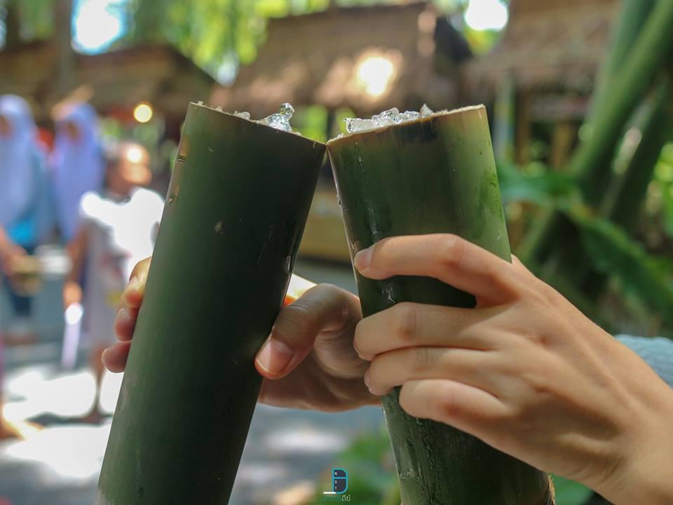 เครื่องดื่มใส่ในกระบอกไม้ไผ่ พัทลุง,กิน,เที่ยว,จุดเช็คอิน,จุดถ่ายรูป,แหล่งท่องเที่ยว