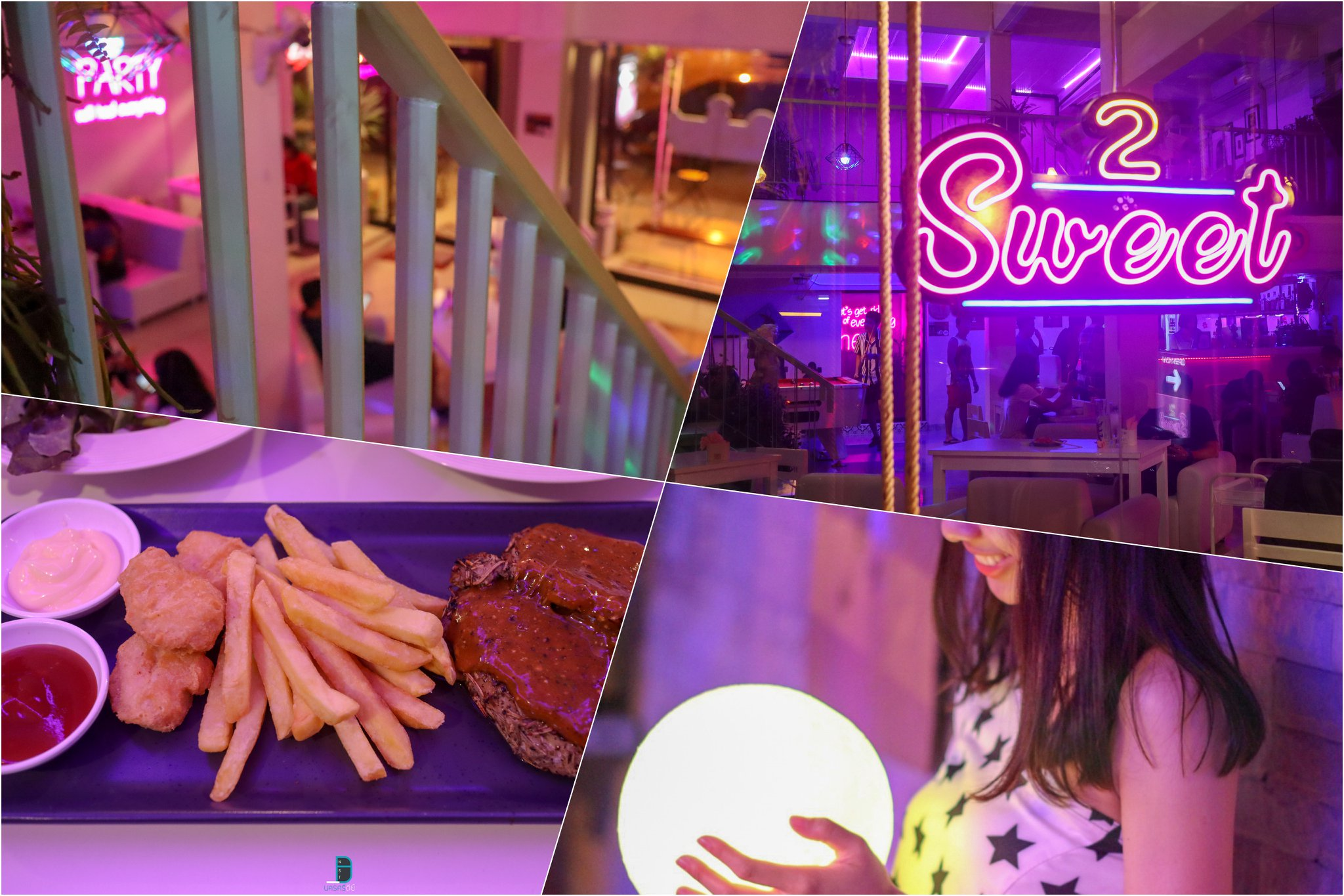 3.-2sweet-bar-cafe-กึ่งบาร์กึ่งคาเฟ่สวยๆ-พร้อมจุดถ่ายรูปแสงสีเด็ดมากมาย-ดูรีวิวตัวเต็มได้ที่-รายละเอียด-คลิก แหล่งท่องเที่ยว,นครศรี,จุดเช็คอิน,จุดถ่ายรูป,คาเฟ่,ของกิน,จุดกิน