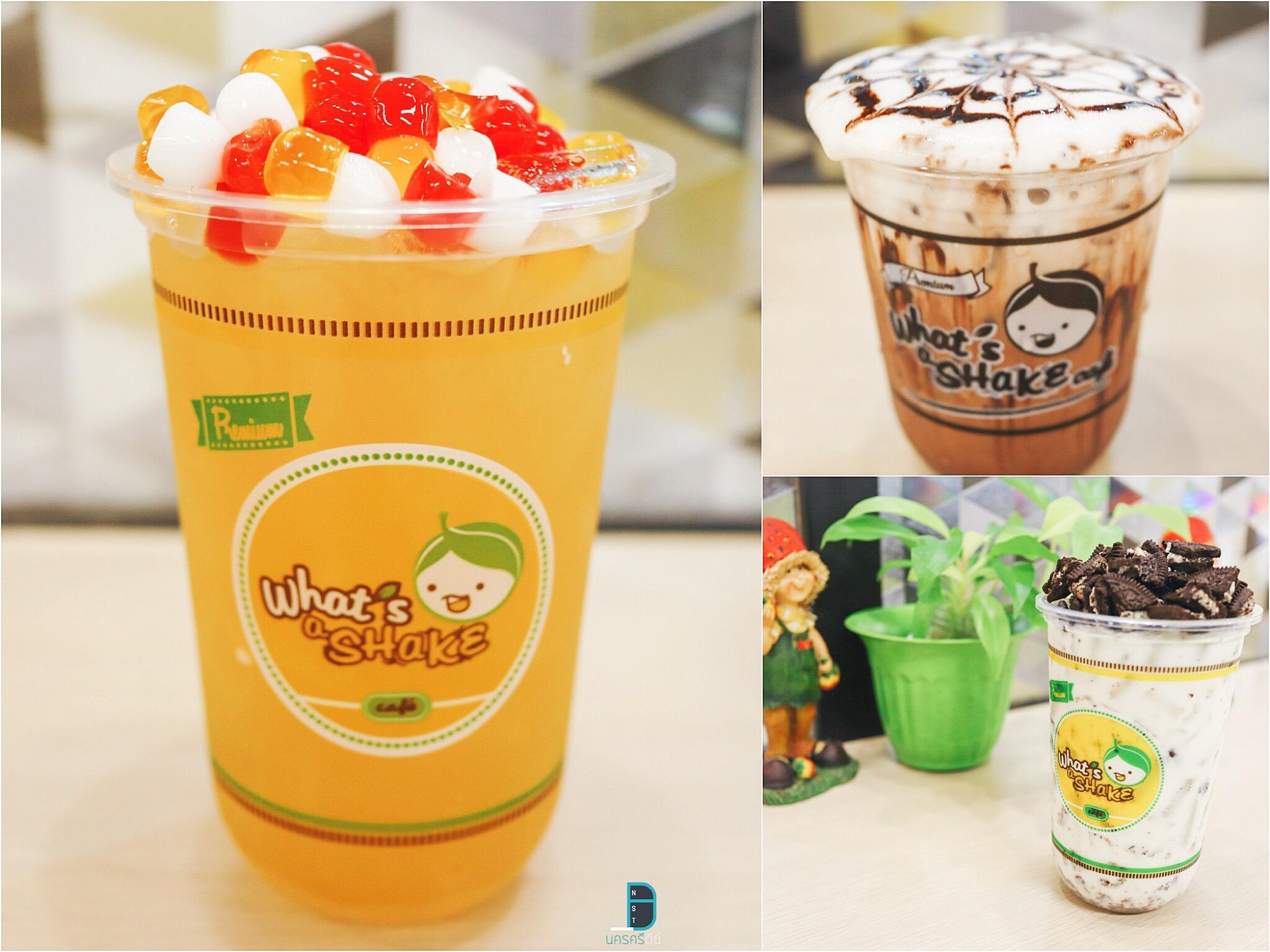 11.-What-a-shake-Cafe-ถือว่าเป็นร้านใหม่อยู่ในห้างใหม่ในเมืองนครกันเลยครับ-ร้านนี้ทีเด็ดมีหลายเมนู-แอดมินชอบชาไข่มุก-เมนูที่เป็นโอริโอ้-พวกโกโก้ก็เข้มๆอร่อยครับ-ถือได้ว่าเป็นจุดเช็คอินดับร้อนกันได้แน่นอน What-s-a-Shake-cafe-นครศรีธรรมราช  ร้านดับร้อน,ร้านหน้าร้อน,ของกิน,เครื่องดื่ม,คาเฟ่,นครศรีธรรมราช