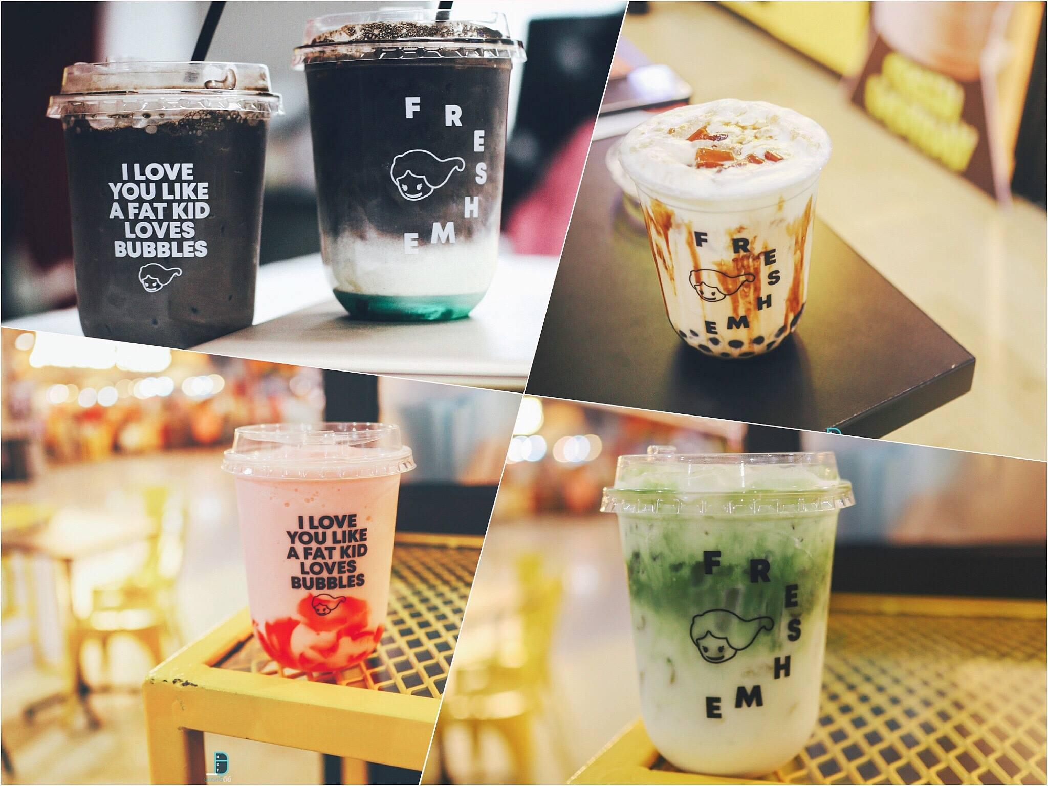 จัดไปเมนูชานมชาเขียวววว ร้านดับร้อน,ร้านหน้าร้อน,ของกิน,เครื่องดื่ม,คาเฟ่,นครศรีธรรมราช