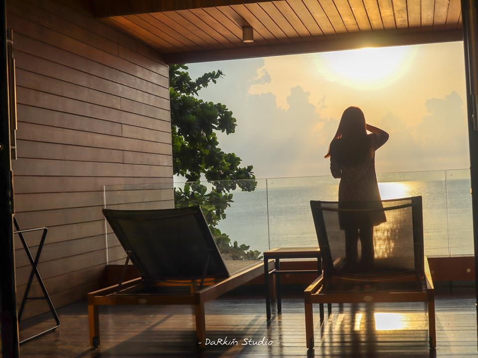 บรรยากาศพระอาทิตย์ขึ้น-ที่-Sichon-Cabana  checkin,nakhonsithammarat,ของกิน,ร้านอาหาร,จุดเช็คอิน,ที่เที่ยว