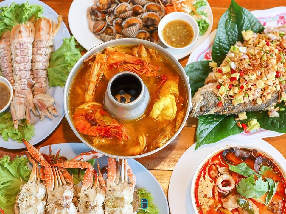 สุดยอดเมืองแห่งอาหารทะเล  ท่าศาลา,เที่ยวไหนดี,ของกิน,เที่ยว,จุดเช็คอิน,ร้านซีฟู๊ด