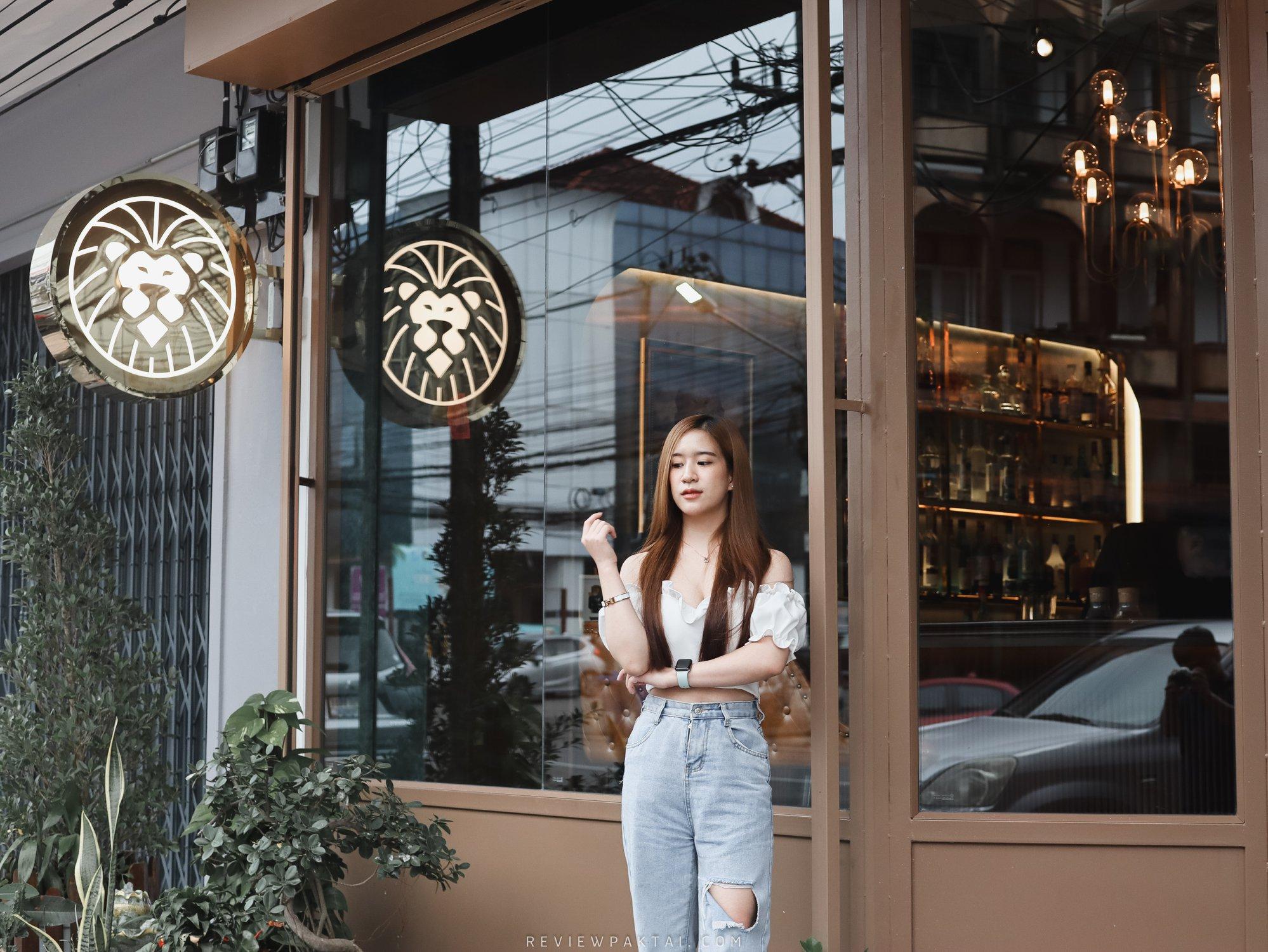 บรรยากาศหน้าร้านชิคๆคูลๆ ตรัง,ร้านอาหาร,ของกิน,บาร์,Lion,Tale,Bar,Restaurant,เปิดใหม่