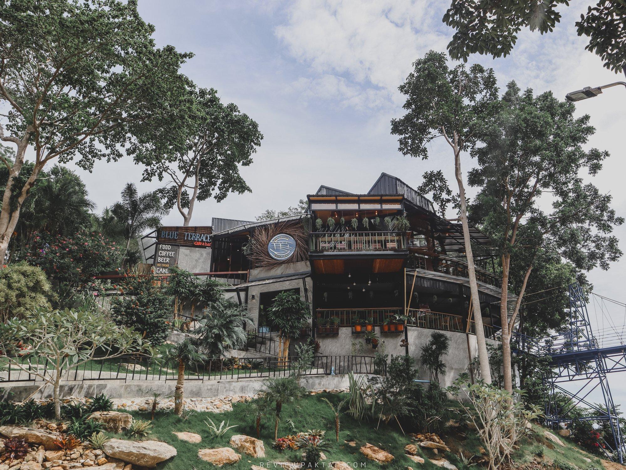 คาเฟ่-ร้านอาหาร-ลงทุนมวากก ขนอม,คาเฟ่,Blueterrace,อร่อย,วิวหลักล้าน,กลางป่า,นครศรีธรรมราช