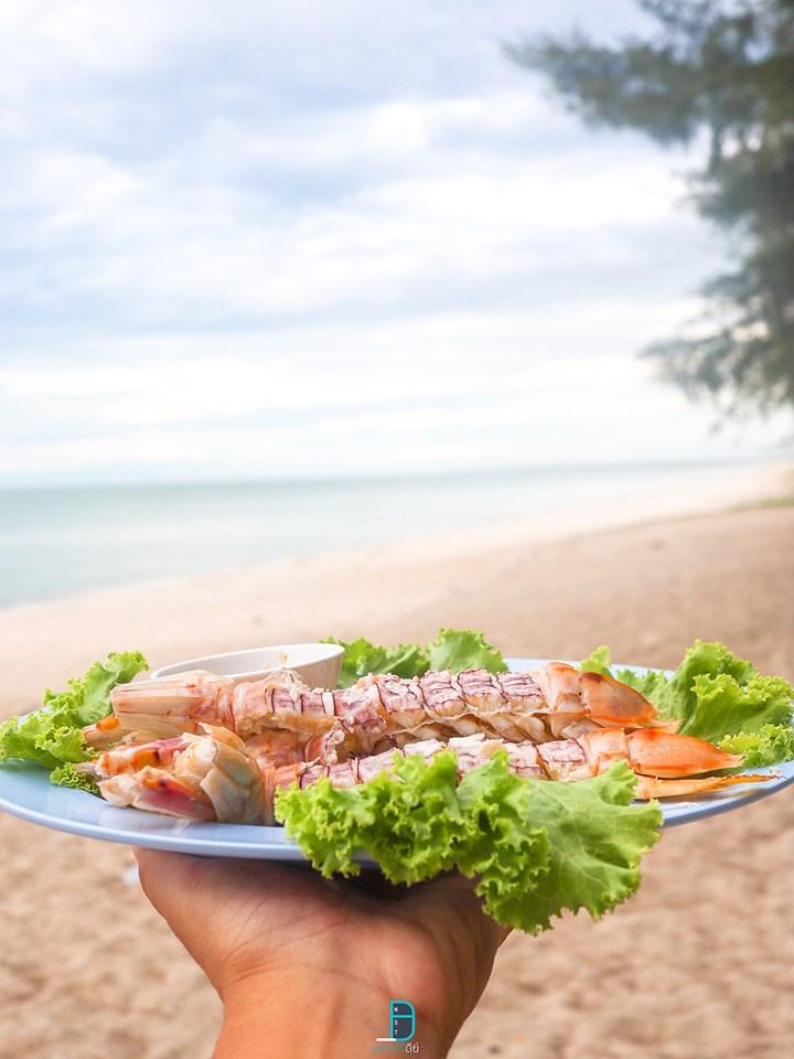 ครัวทะเล,หาดบ่อนนท์,ของกิน,อาหารทะเล,ร้านซีฟู๊ด,ท่าศาลา,หาดท่าสูง