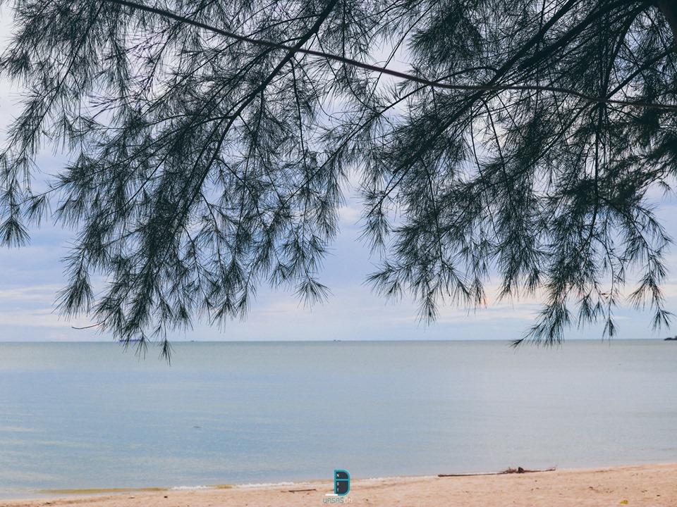 บรรยากาศสวยๆหน้าหาด  ท่าศาลา,เที่ยวไหนดี,ของกิน,เที่ยว,จุดเช็คอิน,ร้านซีฟู๊ด