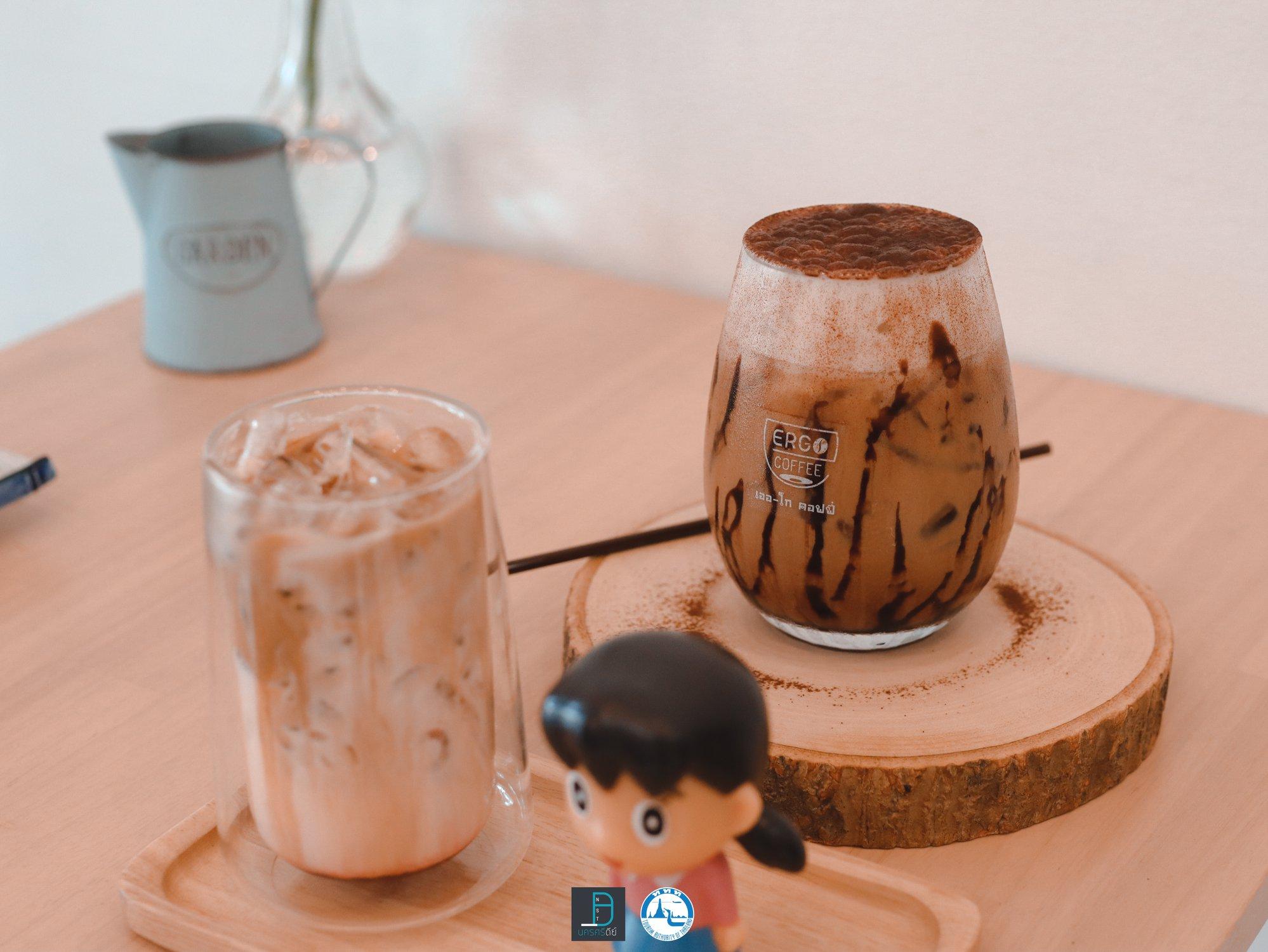 โกโก้,นครศรีธรรมราช,อร่อย,ergo,coffee,ของกิน,เครื่องดื่ม,คาเฟ่