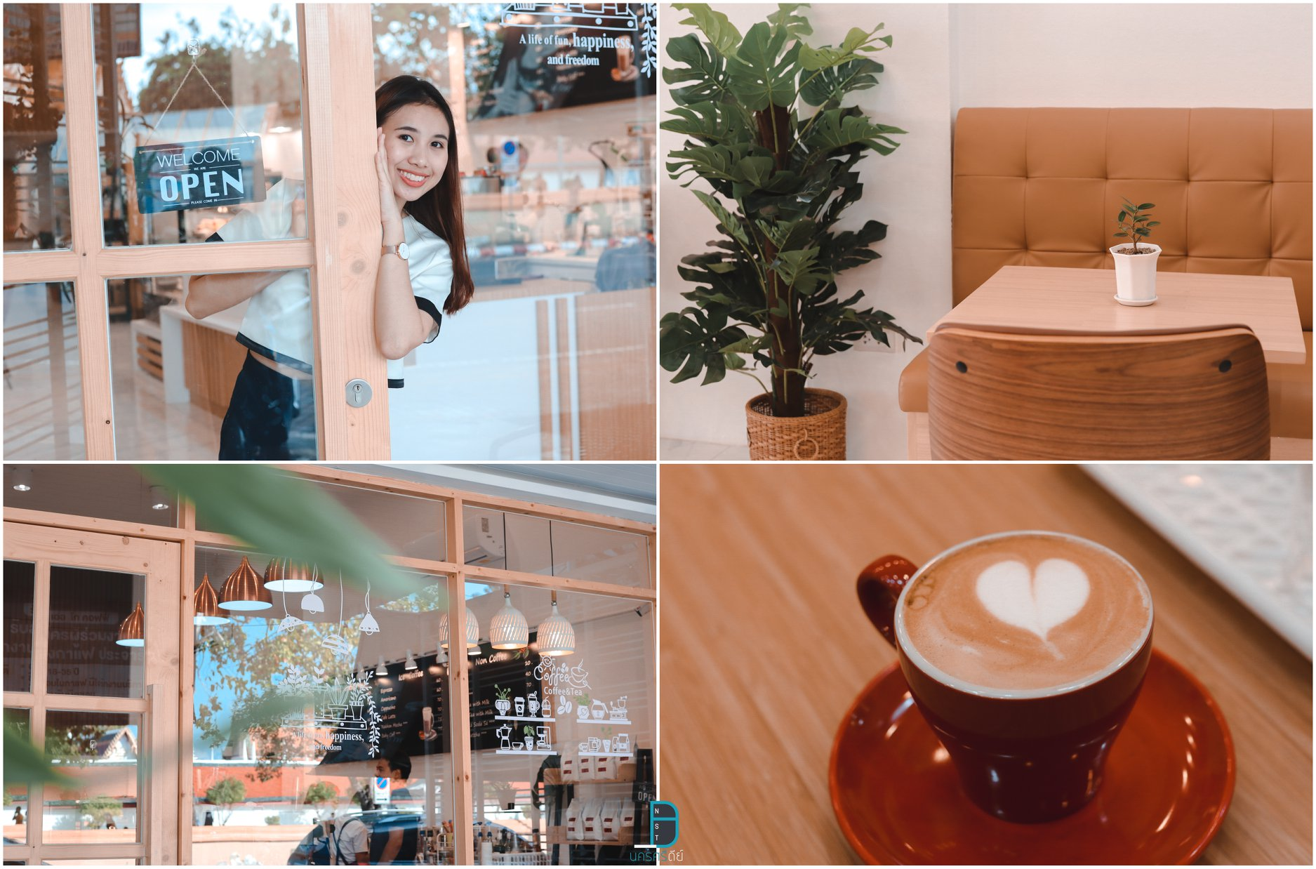 คาเฟ่,Cafe,นครศรีธรรมราช,2021,2564,ของกิน,จุดเช็คอิน,จุดถ่ายรูป